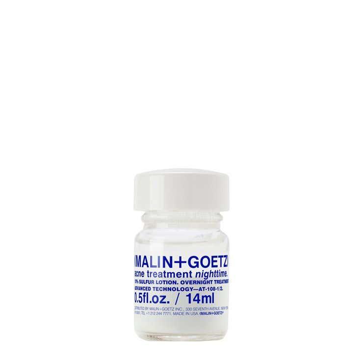 acne treatment nighttime.