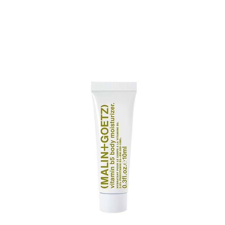vitamin b5 body moisturizer. sample